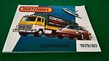 MATCHBOX COLLECTORS CATALOGUE 1979/80 USA EDITION EXCELLENT CONDITION
