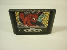 SPIDER MAN VS THE KINGPIN - Sega Genesis - TESTED - Game Cartridge - !!!!