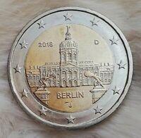 """___2 Euro Münze___ (FEHLPRÄGUNG) 2018 """"J"""" Deutschland """"Berlin"""" (Gedenkmünze)"""