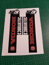 MONTESA 4RT 2016 Style FORK STICKER, DECALS also 315R  S3   Thick Material
