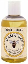Burt's Bees Mama Bee Nourishing Body Oil with Vitamin-E 4 oz.