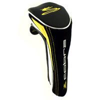 NEW Golf Cobra S3 Black/Gold Hybrid Headcover