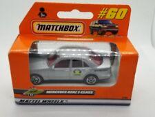 1998 Matchbox Superfast #60 Silver Mercedes-Benz E-Class New In Box