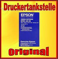 2x Orig. Farbband EPSON M 250 255 260 262 265 270 280 Sigma ERC-23 B  NEU & OVP