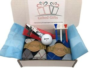 Golf Gift Sets Socks Balls Tee's Ideal Presents, Birthdays Srixon  Society's