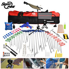PDR Tools Spring Steel Rods Crowbars Paintless Dent Repair Removal Body Hail Set