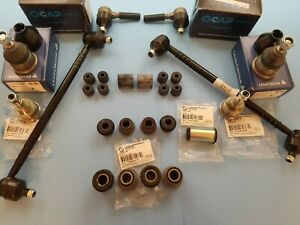 Volvo 142 144 145 69-74 Front Suspension Kit Tie Rods C/Arm Bushings Ball Joints