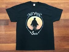 NEIL YOUNG 'Solo' XL T-Shirt Crazy Horse Zuma Harvest Moon Music - BRAND NEW!!!!