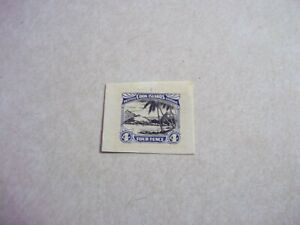 COOK ISLANDS STAMPS SG 103 Scott 88 RARE DIE PROOF In Issued Colors
