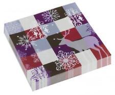 Decoración y menaje servilletas de papel para mesas de fiesta, Navidad