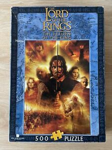 Blue Opal The Lord Of The Rings The Return Of The King Heroes 500 Piece Puzzle