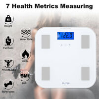NEW Mliter Body Fat Weight Scale LCD Health Fitness BMI Measuring Info Storage