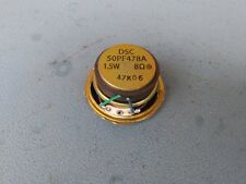 "2"" / 50mm driver/speaker 50PF478A  8ohm, 1.5W, 25"