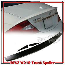 Rear Wing Trunk Spoiler 2010 Unpainted Mercedes BENZ W219 CLS-Class Sedan CLS350