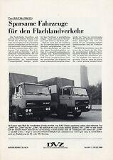 Sonderdruck DAF 2100 2300 Truck Test im Sonderdruck DVZ Nr. 80 5.7.80 1980 LKWs