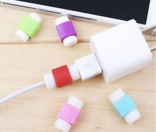 8 pcs Charger Cable Protector Cord Saver for Iphone samsung Silicone usb data