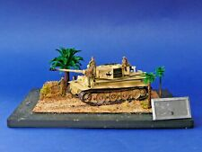 Char tank Easy Model 1:72 - Diorama d'exposition Tigar I late type s.Pz.Abt 505