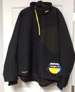 Ski-Doo Helium Black Pullover Jacket Size Large 4406660990 Ski doo Apparell