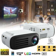 Mini 7000 Lumens Full HD 1080P LED Projector Home Theater Cinema USB HDMI TF AV