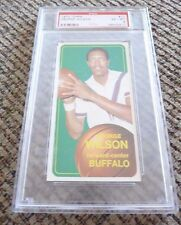 George Wilson 1970 Topps Tall Boy #11 Basketball Card PSA Graded Slabbed EX-MT 6