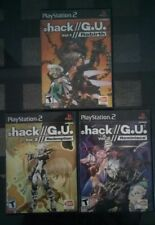 .Hack G.U.: Vol. 1 2 3: Rebirth + Reminisce + Redemption Set PS2
