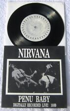 "Nirvana LIVE 10/89  - Penu Baby -  Picture Sleeve 45 rpm PS 7"" EP"