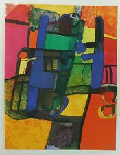 Maurice ESTEVE (1904-1968) Duetto 1969, lithographie originale, Cahier d'Art XXe