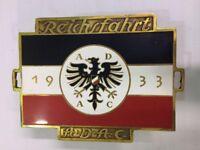 Car Badge Reichsfahrt adac car grill badge emblem enamled car grill badge emtal