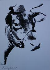 Limited POP ART edition silkscreen serigraph, Animal, signed Andy Warhol w DOCS