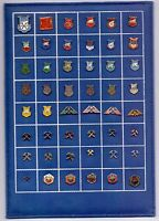48 pins pin badge ansteckandel MINE MINERS MINING - PINS ON TABLE - YUGOSLAVIA
