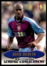 Topps Premier Gold (2003) Dion Dublin Aston Villa No. AT14