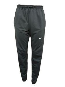 "Nike Dri-fit Women LARGE Athletic skinny Sweat Pants Zip Cuffs Inseam 30""(m9"