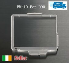 New BM10 Hard Plastic Lcd Monitor Cover Screen Protector For Nikon D90 DSLR