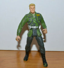 "JURASSIC PARK MILITARY GENERAL ACTION FIGURE 3.75"" 2000 HASBRO DINOSAUR TOY"