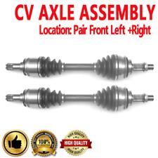 FRONT LEFT & RIGHT CV Axle Shaft For TOYOTA 4RUNNER 03-10 FJ CRUISER TACOMA