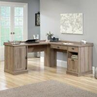 Sauder 412320 August Hill L Shaped Desk L 59 06 Quot X W 58