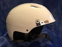Giro Bevel Ski and Snowboard Helmet Pearl White Adult Medium