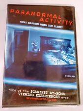 Paranormal Activity DVD 2009 Horror Scary Dreamworks Pictures Rated R New Sealed