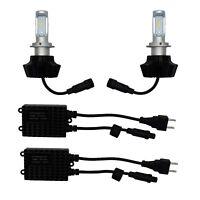 High Power LED H7 Head lamp bulb kit with ballast's pair light upgrade kit HID