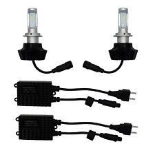 High Power LED H7 head lamp Lampadina KIT con alimentatore'S Coppia di Luce Kit di aggiornamento HID