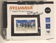 "Sylvania 7"" Digital Photo Frame LED Panel SDPF785 NIB"