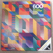 Puzzle - 600 Teile Pieces  - Graphic - Ravensburger Puzzle - 1973