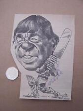 Mike Procter    Cricket Autograph on Newspaper/Magazine Cutting