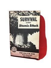 Survival Under Atomic Attack Booklet - Detroit - Paper Booklet