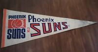 Vintage NBA pennant Basketball Phoenix Suns 29''¾ inches long  *as is* man cave