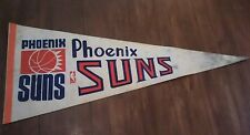 Vintage NBA pennant Basketball Phoenix Suns 29''¾ inches long  *as is*