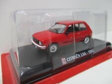 CITROEN LNA 1981 ROUGE AUTOPLUS IXO 1/43 RED ROSSO ROT BOITIER BLISTER