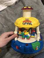 Vtech Light Up Carousel Vintage Baby Toy Little Smart
