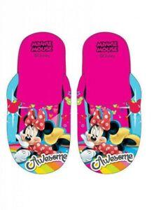 Hausschuhe Minnie Maus Mouse DISNEY Mädchen Pantoffel Schuhe Größe 31 / 32