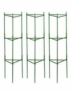 3-pack Plant Cages Assembled Tomato Garden Cages Stakes Vegetable Trellis